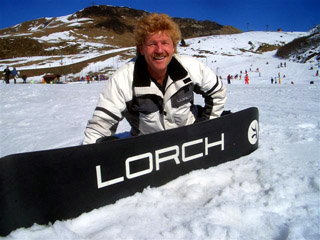 Testing Lorch's products on Monte Campione...